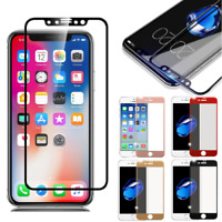 3D Full Coverage Tempered Glass Screen Protector for Apple iPhone X/8/7/6 Plus