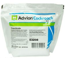 60 Count Bag Advion Cockroach German Roach Control Bait Stations