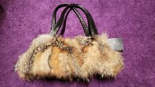 Paolo Masi fox fur handbag Brand New with tags