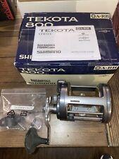 Shimano Tekota 800 A-Rb Saltwater Reel 4.2:1 Tek-800