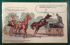 Vintage Phoenix Horseshoe Company Advertising Postcard Trade Card