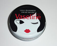 Lulu Guinness Doll Face Limited Edition Vaseline Lip Balm Tin Brand New Free PP