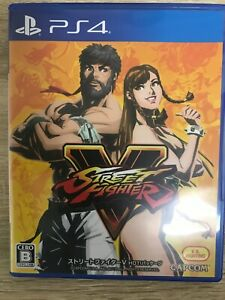 Street Fighter V HOT! package Sony PS4 Video Games From Japan Tracking USED