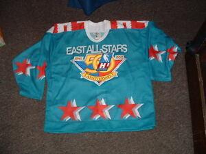 1995 IHL EAST ALL STARS 50TH ANNIVERSARY AUTHENTIC PRO HOCKEY JERSEY sz 52