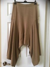 ESCADA CASHMERE / WOOL CAMEL COLOR SKIRT made in ITALY