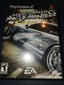 Need For Speed Most Wanted : (Sony Playstation 2, 2005) Complete, Black Label