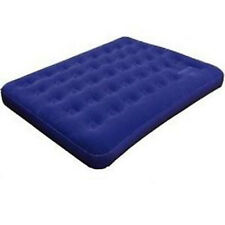 Caribee Velour Top Double Inflatable Blow Up Air Bed Mattress