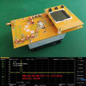 FM Transmitter adjustable 30W Power 12V Digital LED Radio Station PLL Stereo FM