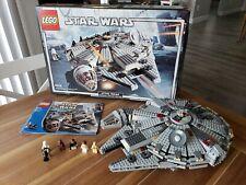Star Wars Lego Millennium Falcon 4504 In Box Original Trilogy, 99.99% complete*
