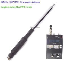 14MHz Ham Amateur Radio 20 Meter Band HF BNC QRP Telescopic Antenna