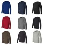 Bella+Canvas Men's Long Sleeve T-Shirt Plain Tee 10 Colors 3501 Fashion Cool New