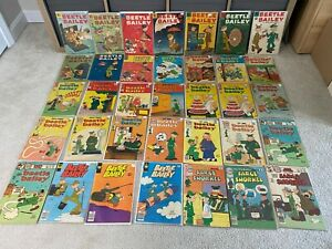 Big Lot of Dell Charlton King Beetle Bailey Sarge Snorkel Silver Age Comics
