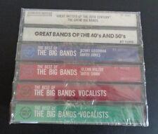 GREAT BIG BANDS Cassette SEALED Set of 6 Benny Goodman Glenn Miller NEW FreeShip