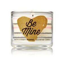 Bath and Body Works Mini Candle BE MINE New Scent Hot Cocoa & Cream