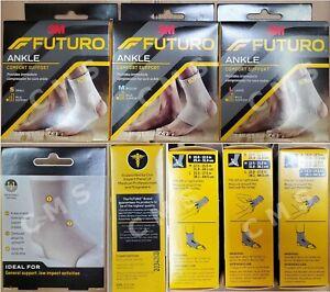 3M FUTURO Ankle Support Comfort Compression Brace Mild Former ACE S M L EACH