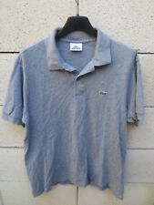 Polo LACOSTE Devanlay gris shirt jersey coton manches courtes 4