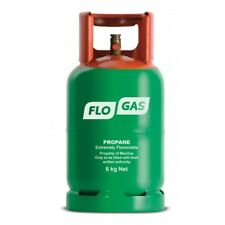 FloGas 6Kg Propane Patio Gas (FULL). No Empty Required. Calor Replacement