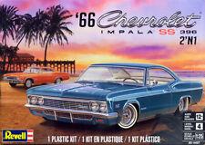 1966 Chevrolet Impala SS 396 2'n1 in 1:25 Model Kit Bausatz Revell 4497