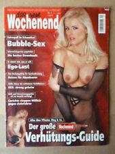 Wochenend Heft 2002/04, vom 17.01.2002 Naomi Campell, Tom Cruise,