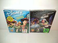 Disney Pixar Toy Story 2 Disney Activity Center Ages 4-8 Junior lot of 2 CD-ROM