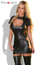 Robe trés sexy clubbing en wetlook  - Provocative Lingerie, noir, sexy, chic
