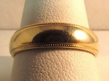 14K Solid Gold Wedding Band Ring Size 10 HEAVY! SAVE $750 - #R185