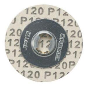 Dremel EZ412SA EZ Lock 120 Grit Sanding Disc