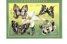 Grenadines 2001  -  Butterflies   - Block of four  - MNH