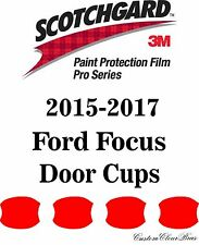 3M Scotchgard Paint Protection Film Pro Series Pre-Cut 2015 2016 2017 Ford Focus