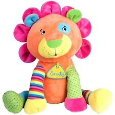 Peluche - Lion Assis Multicolore - 42 Cm