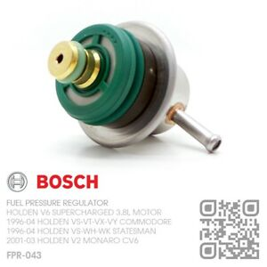 BOSCH FUEL PRESSURE REGULATOR V6 SUPERCHARGED 3.8L HOLDEN VS-VT-VX-VY COMMODORE