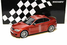 1:18 Minichamps BMW 1er M Coupe 2011 orange NEW bei PREMIUM-MODELCARS