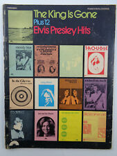 The King Is Gone Plus 12 Elvis Presley Hits: piano / vocal / chords sheet music