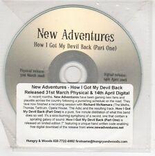 (GJ575) New Adventures, How I Got My Devil Back (Part 1) - 2008 DJ CD