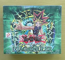 YU-GI-OH  MAGIC RULER FIRST EDITION SEALED BOX US Version