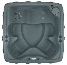 One Day Sale ☀ 5 Person Hot Tub w/ Lounger - 29 Jets- Ozone-Grey