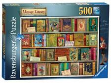 Ravensburger 14733 Vintage Library 500 Pieces Aimee Stewart Jigsaw Puzzle Game