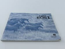 ORIGINAL CANON  EOS 1 INSTRUCTION MANUAL