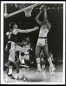 Kareem Abdul-Jabbar 1972 NBA All-Star Game Basketball Type 1 Original Photo