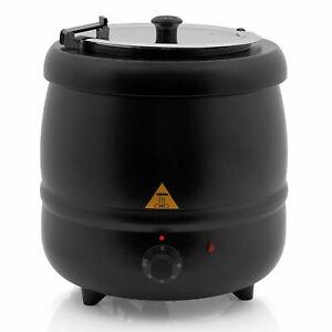 Zelsius elektrischer Suppentopf 10 Liter Suppenkessel Suppenwärmer *B-Ware*