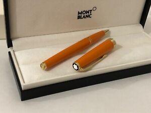 Montblanc Pix Orange Rollerball Pen
