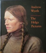 ANDREW WYETH THE HELGA PICTURES hardcover book paintings FREE SHIPPING artist