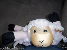 PLUSH DOLL FIGURE ZOOBIES FARM LOLA LAMB BABY NURSERY SECURITY BLANKET BLANKIE