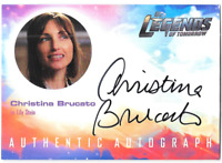 DC Legends of Tomorrow Auto Autograph Card Christina Brucato Lily Stein CB