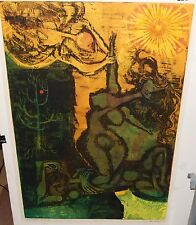 "DICK SWIFT ""THE CREATION OF EVE"" LIMITED EDITION HAND SIGNED LITHOGRAPH LISTED"