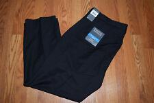 NWT Mens Perry Ellis Black Travel Luxe Pants Slacks W 44 L 30 $75