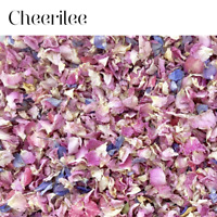 Natural Biodegradable Wedding Confetti PINK Rose Mix Petal, Dried Vintage Flower