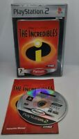 The Incredibles Video Game for Sony PlayStation 2 PS2 PAL TESTED