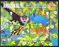 GR BRITAIN 2011 MS3172 Amazon Alive, Mini-Sheet, S/S Mint NH