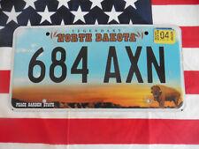 US NORTH DAKOTA 684 AXN AKT 2018 Car Kennzeichen Nummernschild Plate Deko USA I